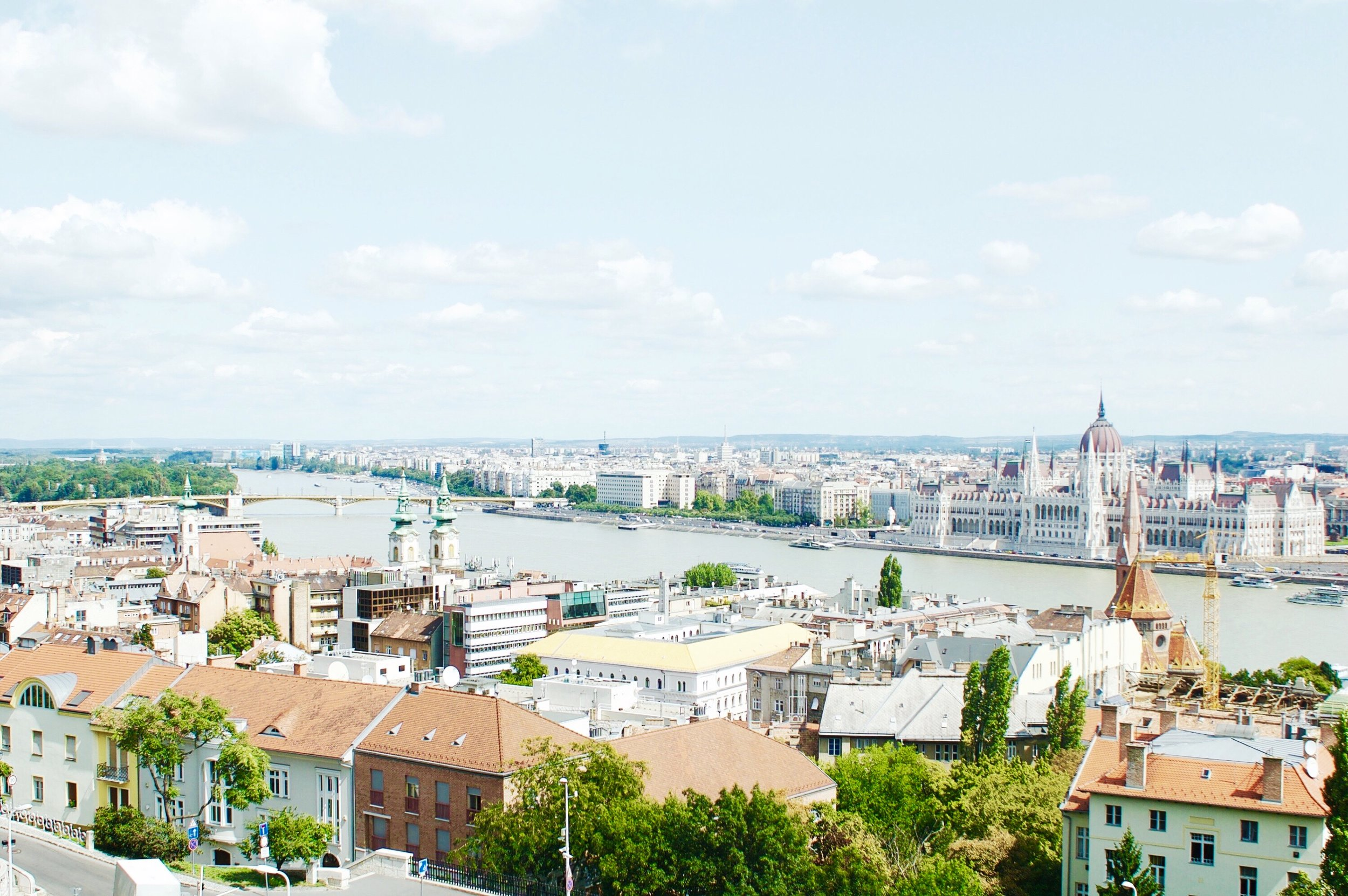 Can you spot the Hungarian Parliament Building?!