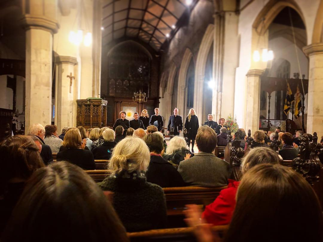 The Rupa Ensemble in concert at St Michael's Church, Framlingham (October 2018)