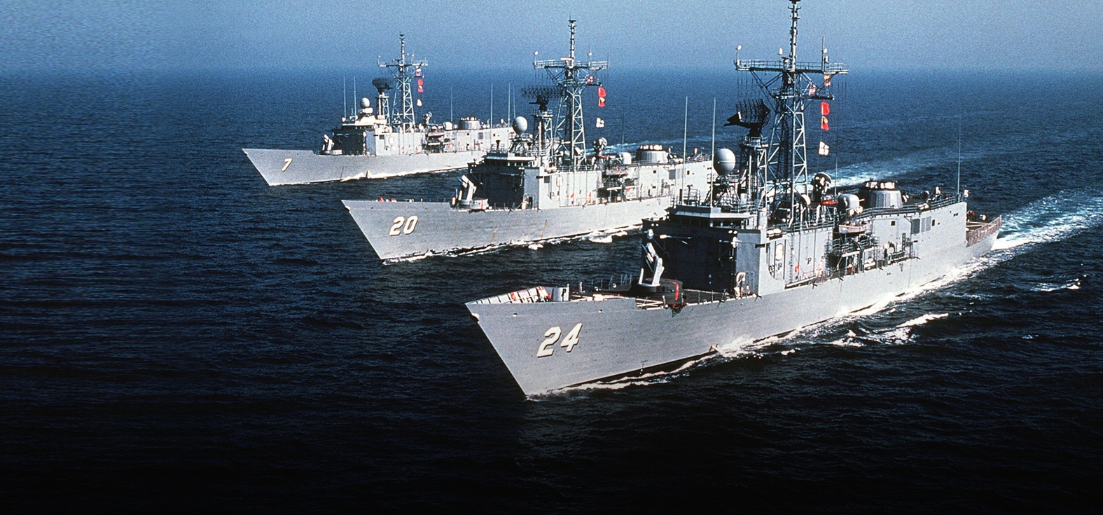 OLIVER HAZARD PERRY CLASS FRIGATE
