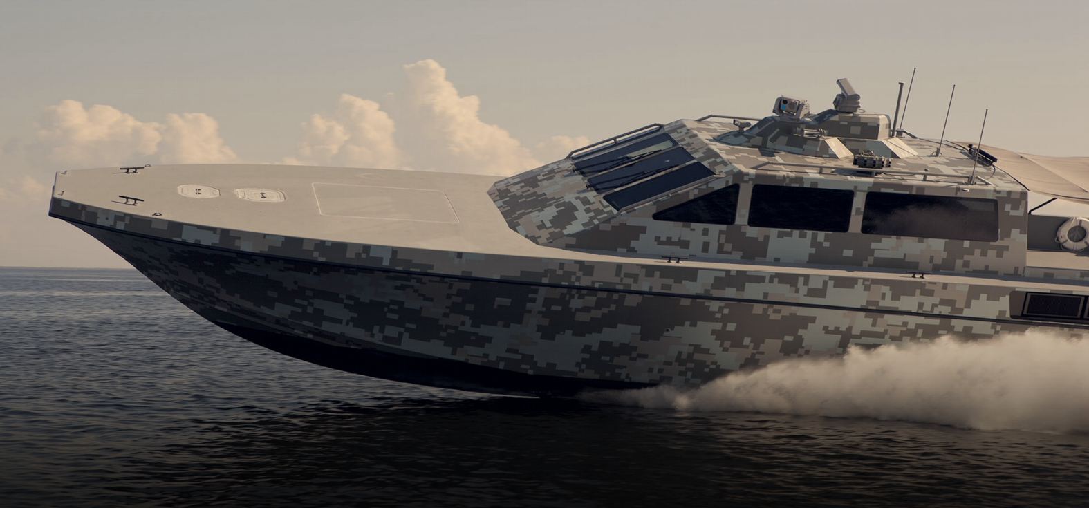 MILITARY & GOVERNMENT PATROL BOATS