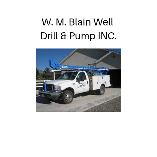 W. M. Blain Well Drill & Pump INC