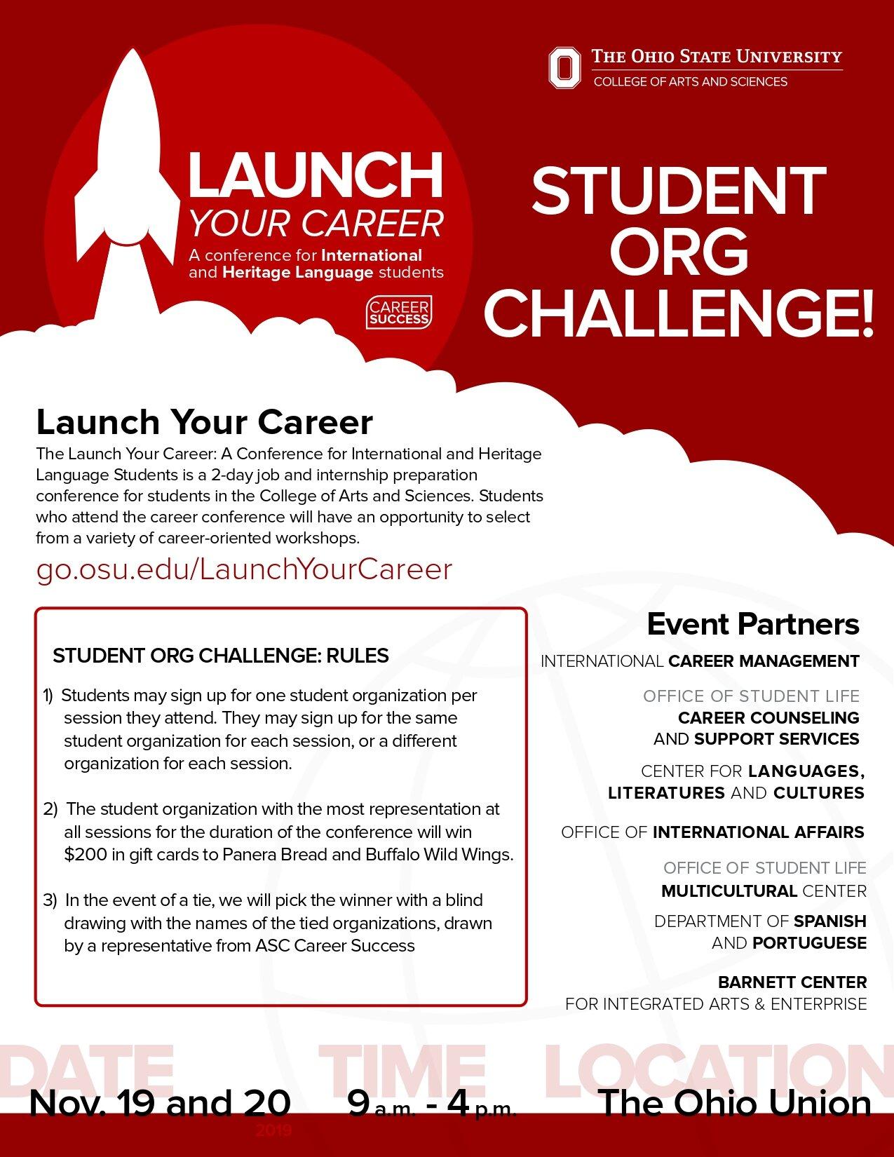Osu Career Fair 2020.Fall 2019 Career Conference Program Sessions Icm Osu