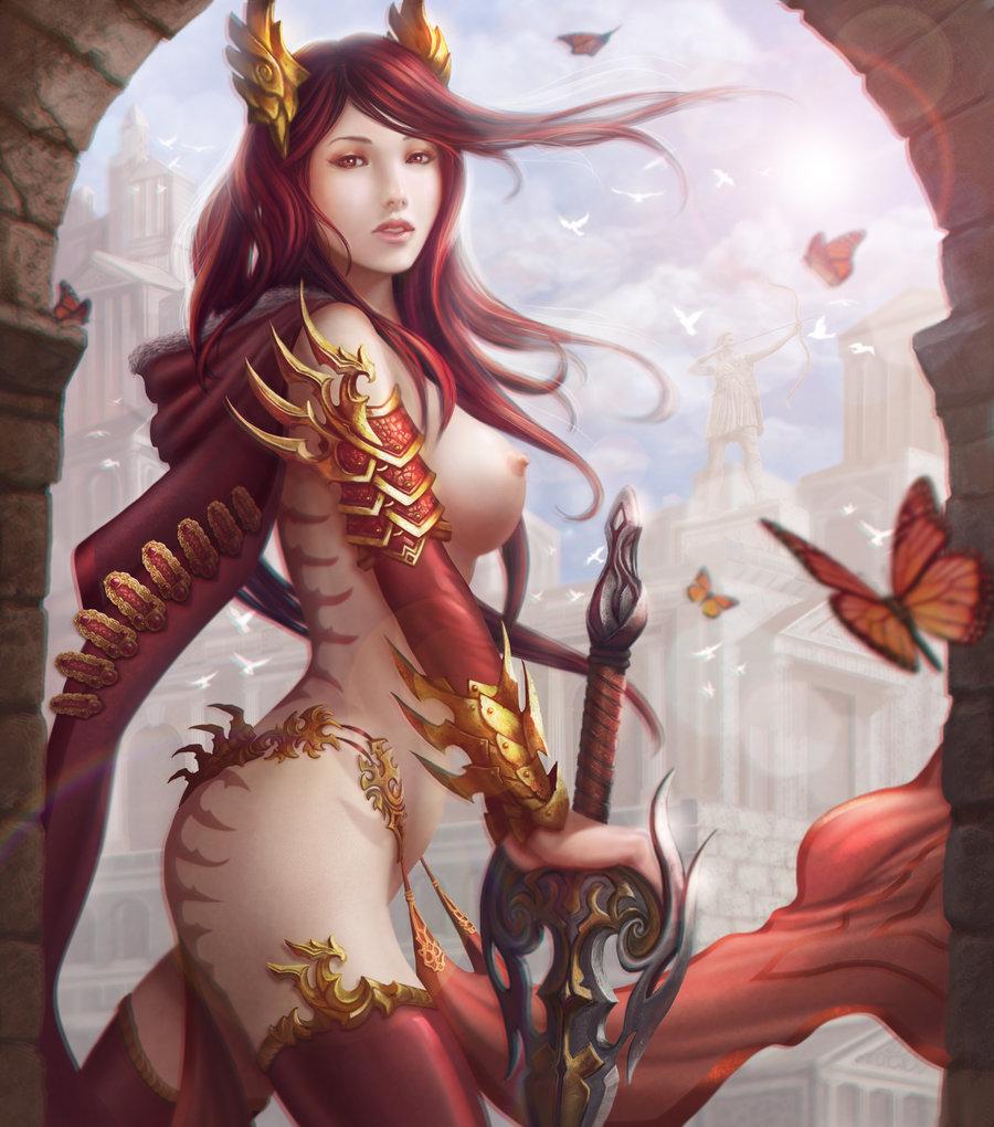 Astalian Champion Goddess