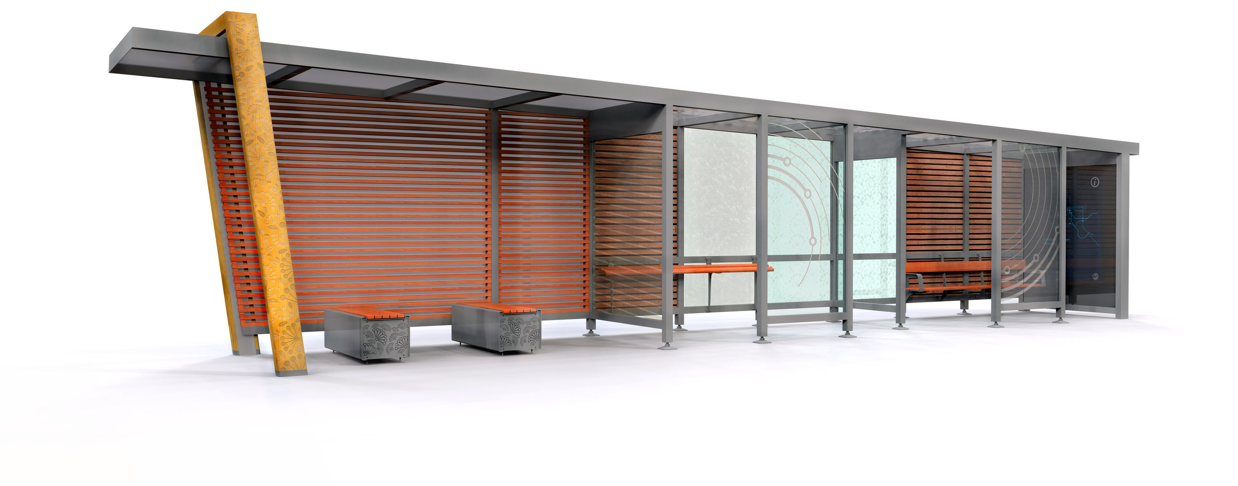 BUS SHELTER -