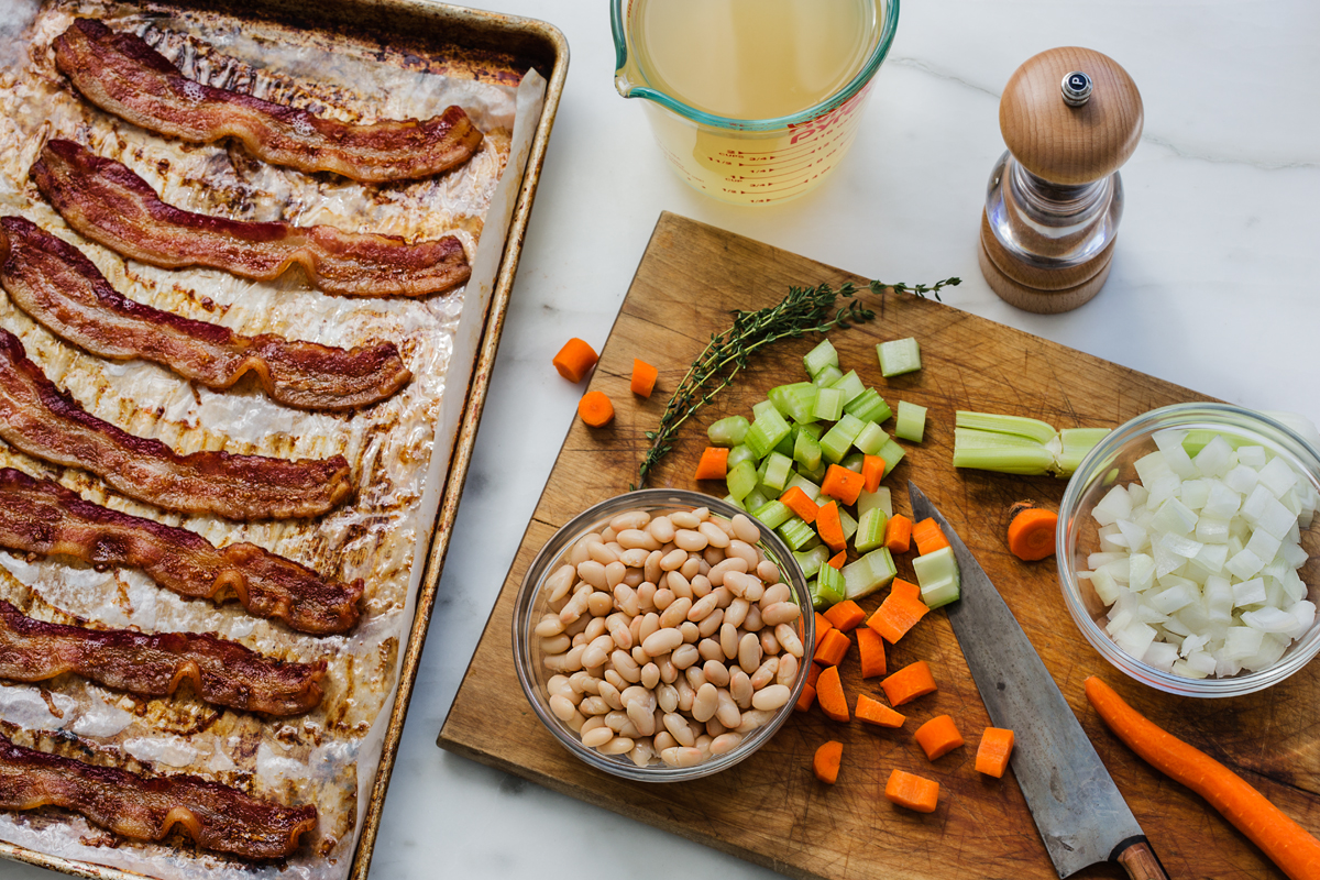 Green Valley Organics Corn and Bacon Chowder Ingredients