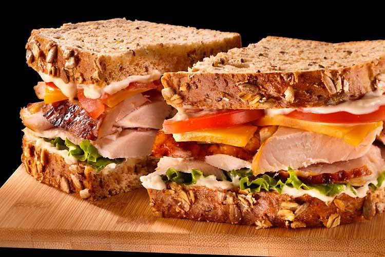 Hellmann's Mayonaise Turkey Sandwich