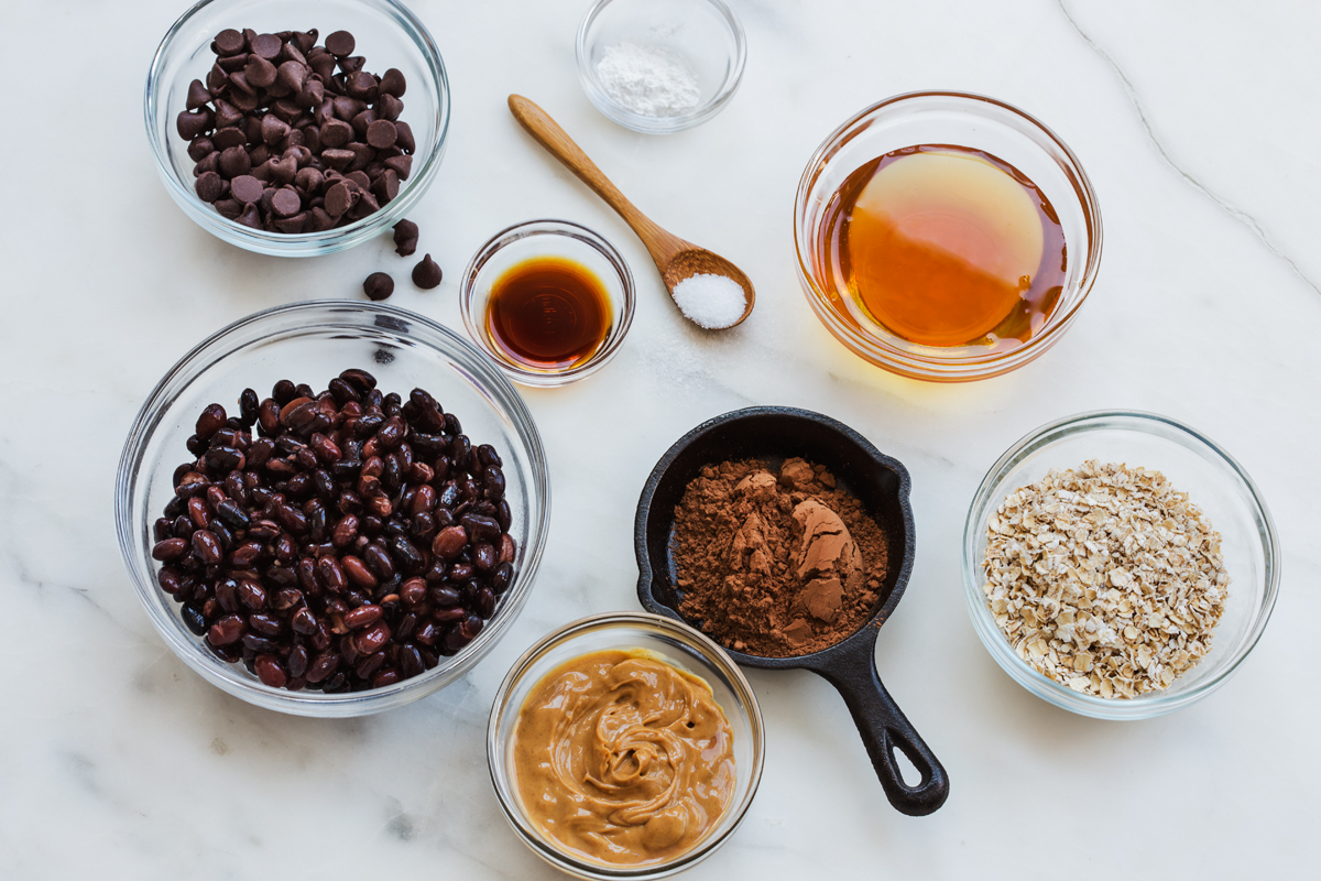 Green Valley Organics Black Bean Brownie Ingredients