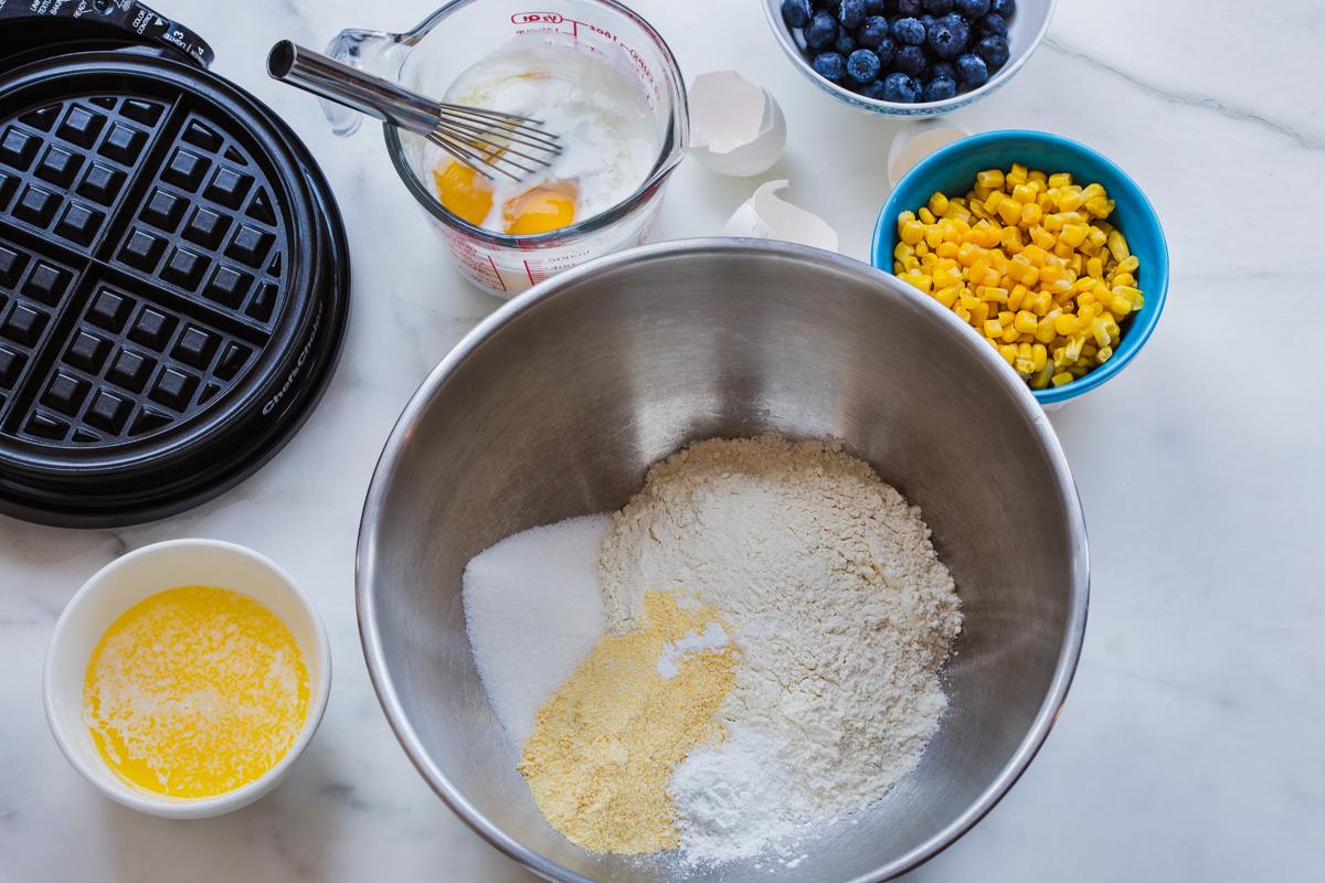 Green Valley Organics Corn Waffles Ingredients