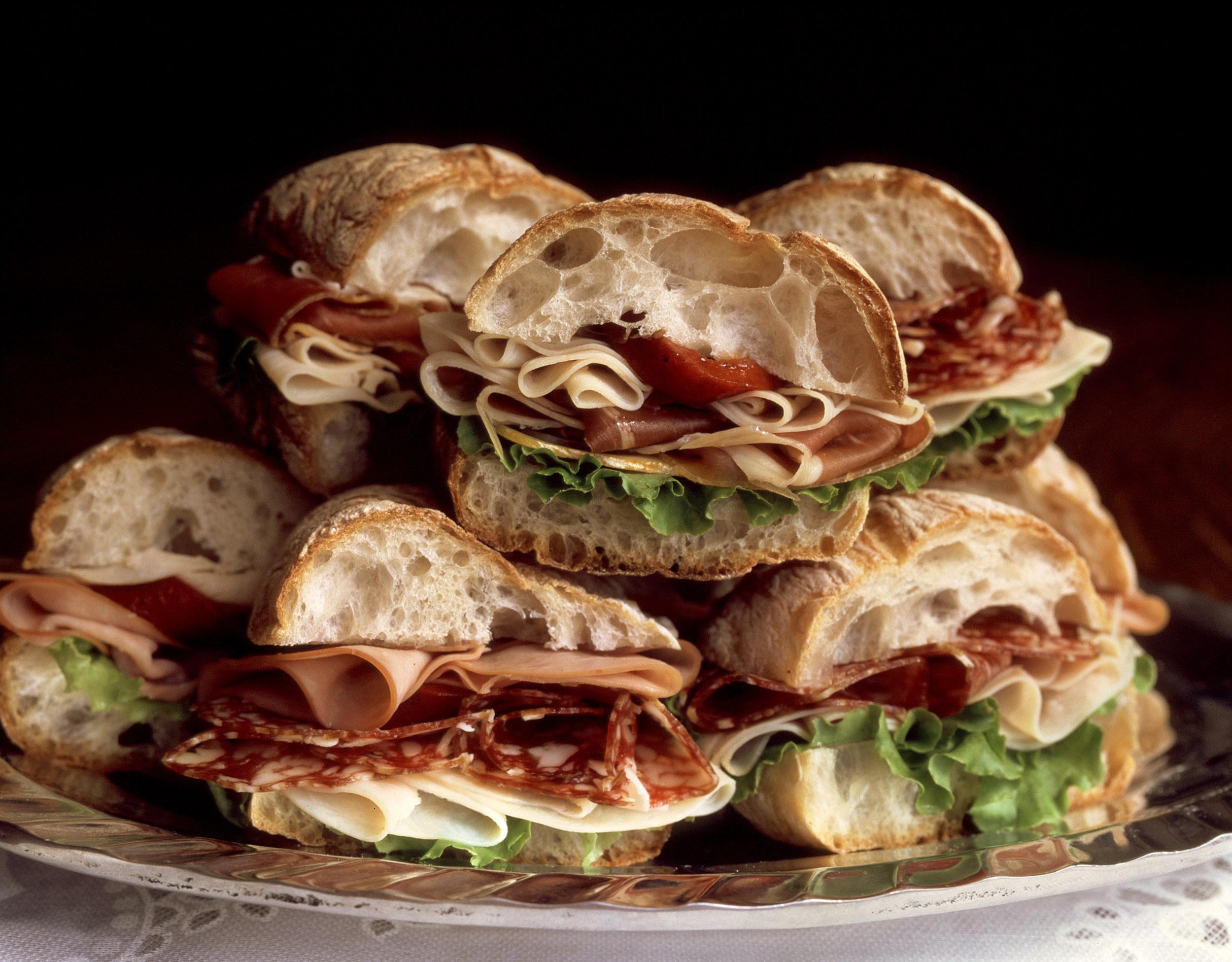 Lamazou Cheeses Amazing Sandwich Platter