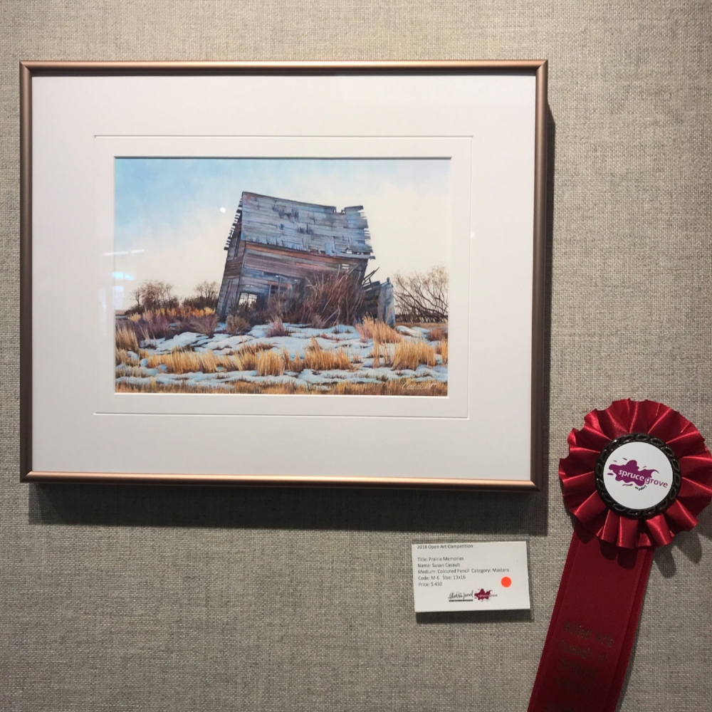 Prarie Memories by Susan Casault -Masters Category