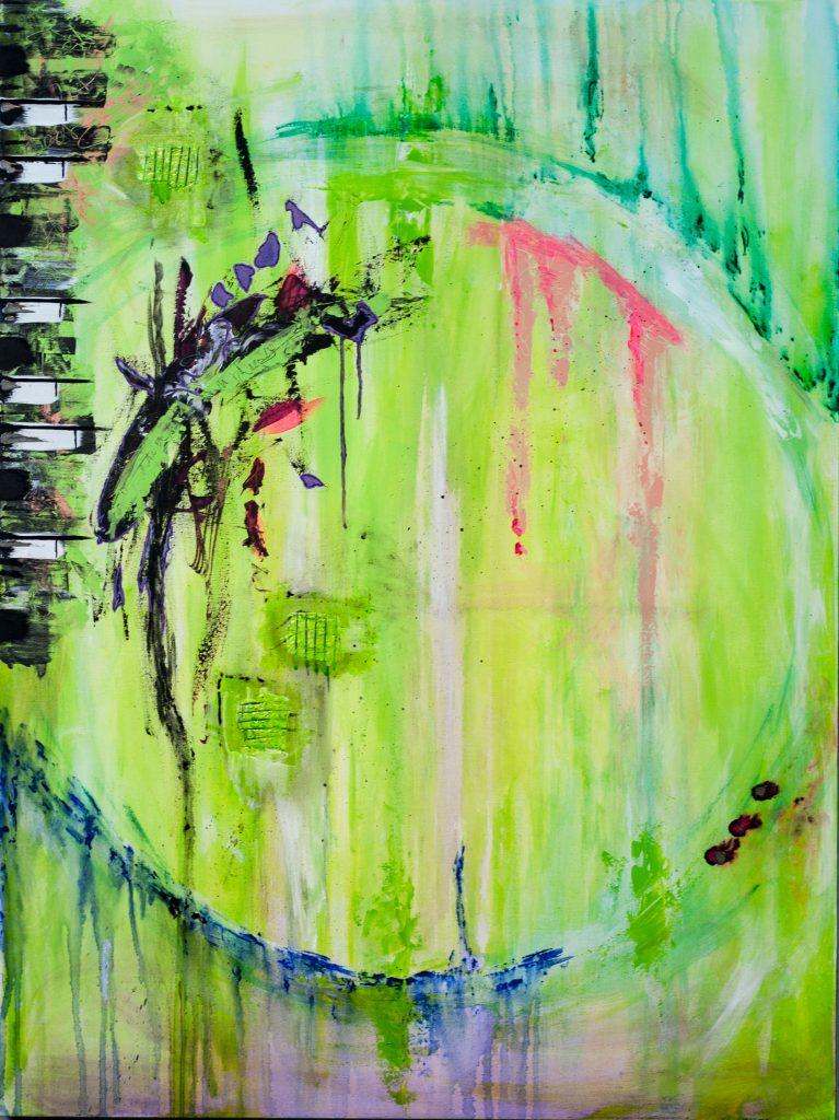 Still Standing  36x48  Elton John, dark green edges.jpg