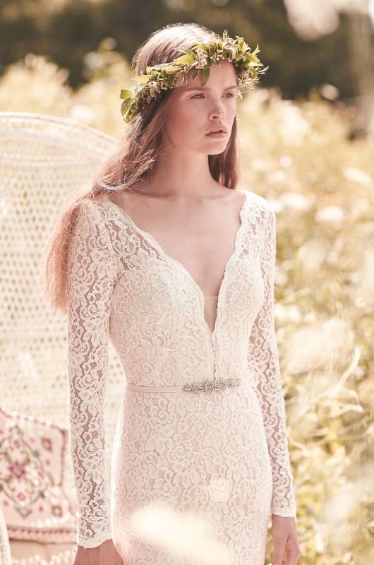 Style 2050 crop Mikaella wedding dress Spring Collection.jpg