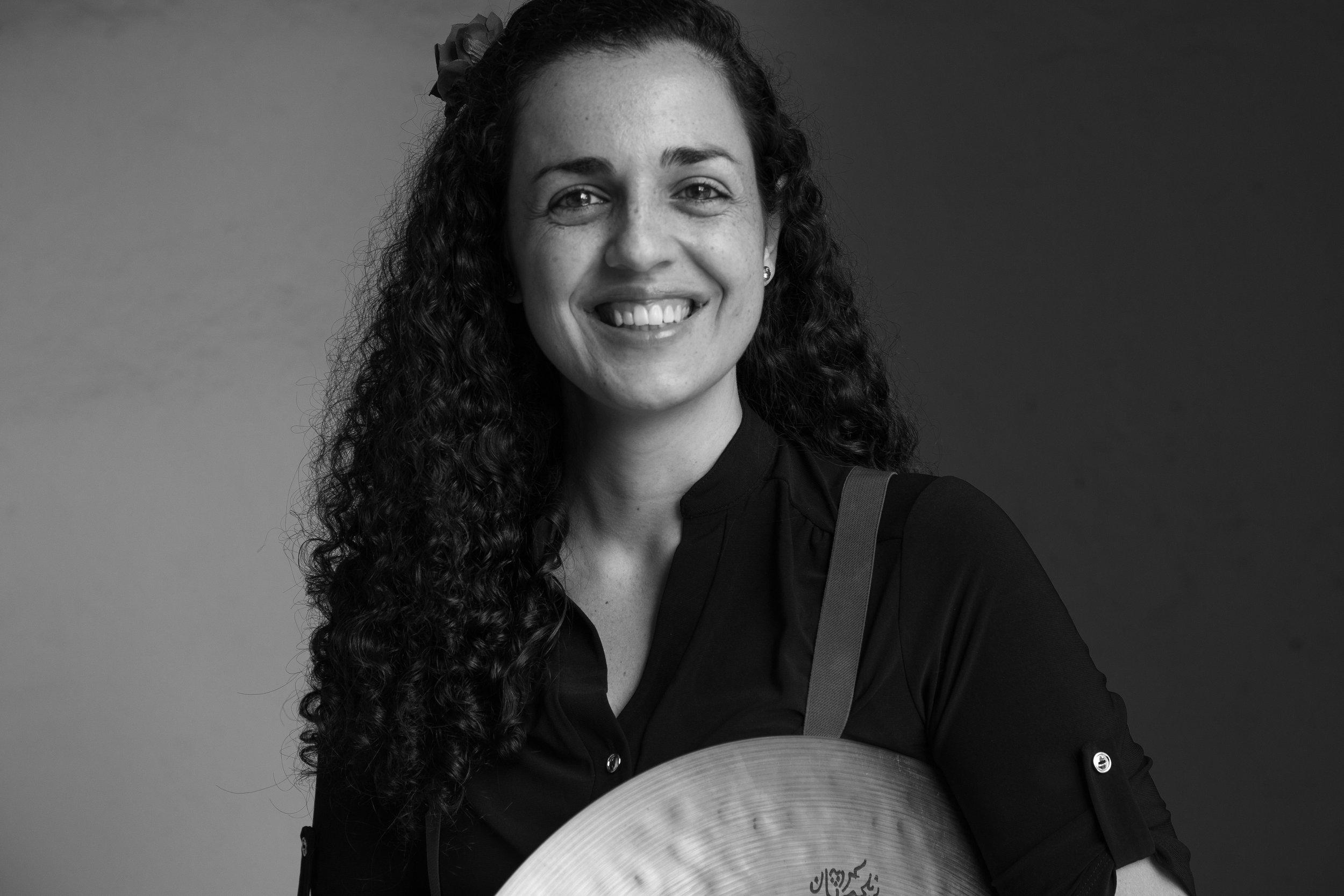Ana Barreiro - Drums