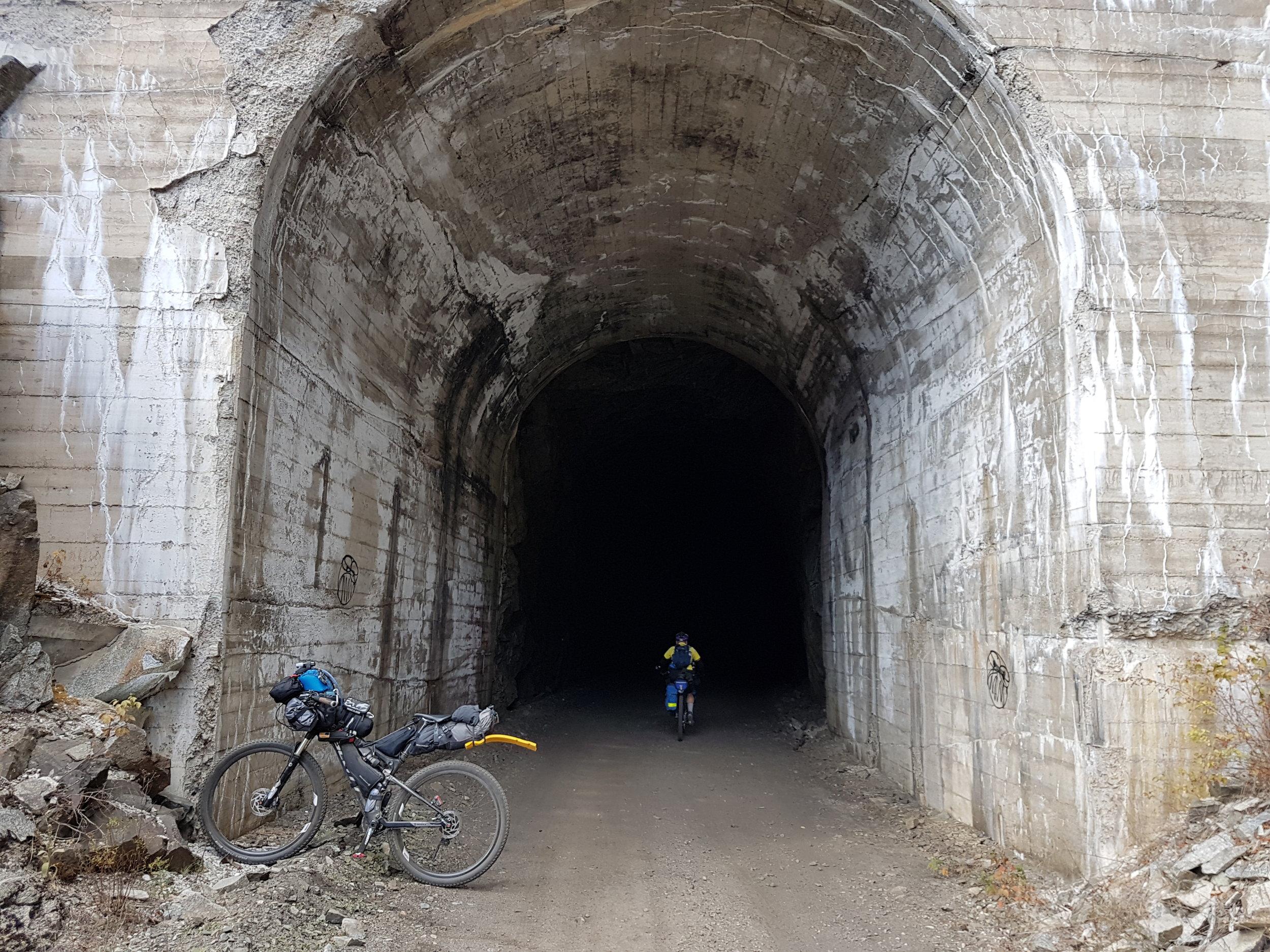 Bulldog Tunnel C&W rail trail