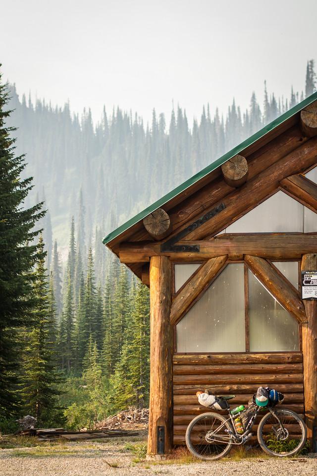 Keeler-Rattle warming hut
