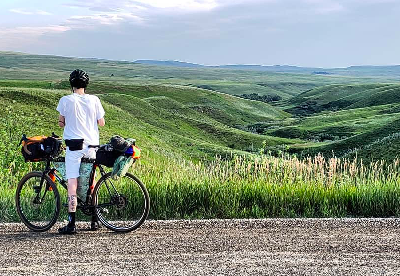 Old Porcupine's Choice   270km loop in Southern Alberta ranchlands and Rockies. Only 33kms of pavements.  Mapped by Sean Carter