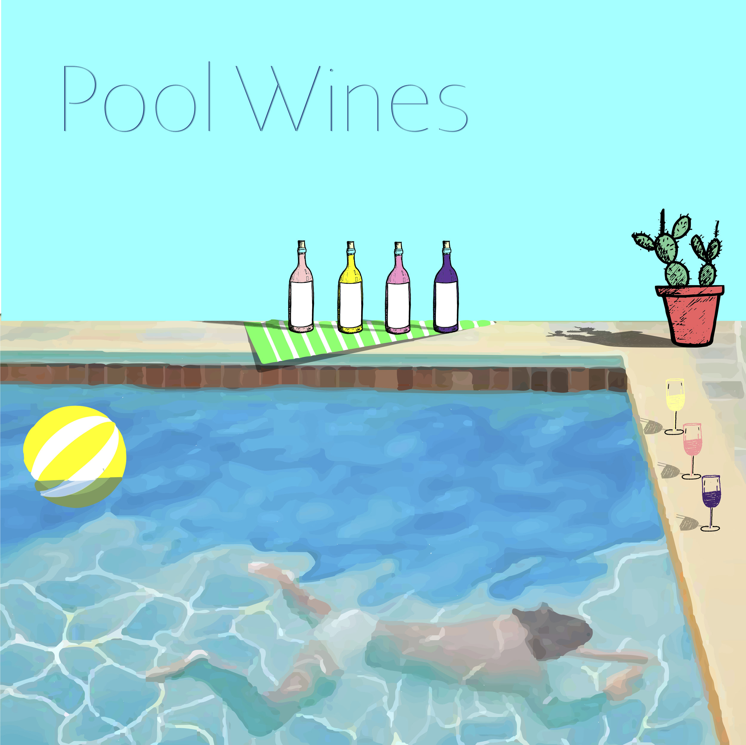 pool wines - June 15, 2019Based on popular demand — and us just needing an excuse to drink wine by the pool, we're offering a wine class, poolside, featuring the most quaffable, gulpable, thirst-quenching summer guzzlers known to mankind.The class will discuss wine pairings for heat and how to choose wines for climate, BBQ, and relentless summer activities. All-the-better, Pool Wines will be taught in and around a vintage, private pool in South Austin.The class will run a little over an hour, inside and out, with plenty of hang time afterwards by / in the pool. Consider this a perfect Father's day gift! Gift Certificates available below.BYO Floaty.
