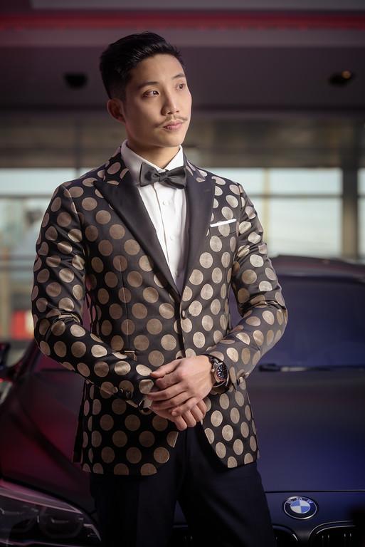 Garrison Bespoke 1 of 1 CollectionDinner Jacket in Silk, Satin and Gold Thread$8880 -