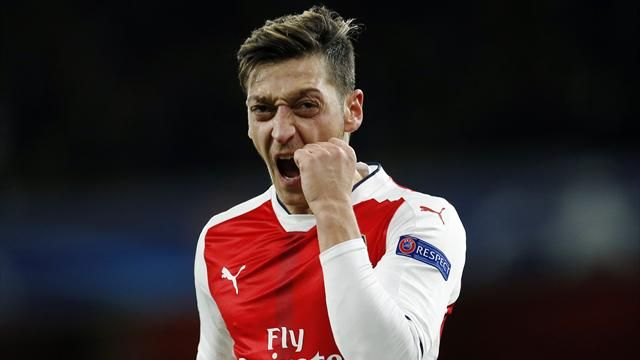 Ozil, considered to be one of the best passers in the modern game