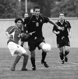 Playing for Fresno State against Oregon State - before I knew how to strength train this was a common experience (at least it is former MLS player Alan Gordon)