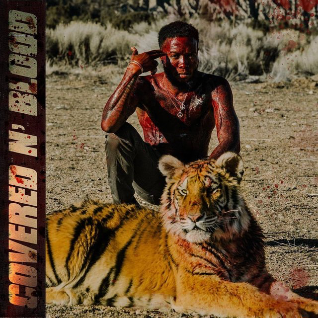 Our guy Shy Glizzy follows up his underrated 2018 debut album Fully Loaded with his LP  Covered N Blood . The 12-song LP features guest appearances from YoungBoy NeverBrokeAgain and 3 Glizzy.