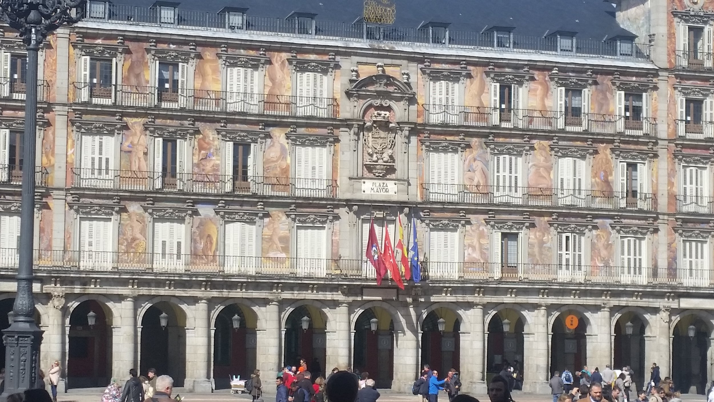 The Plaza Mayor
