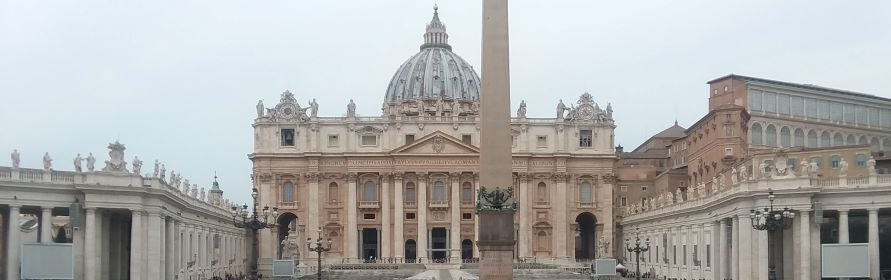 A View of St. Peter's Basilica from the Square — Unless otherwise stated, the photos in this post were taken by my dad, Jim Rutledge