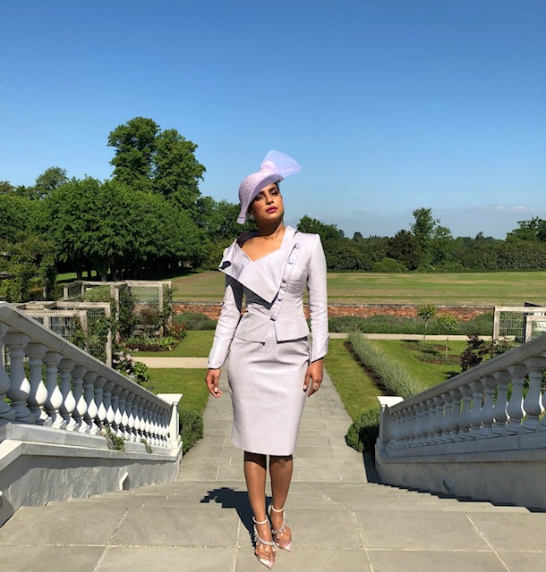 Priyanka Chopra Royal Wedding Outfit