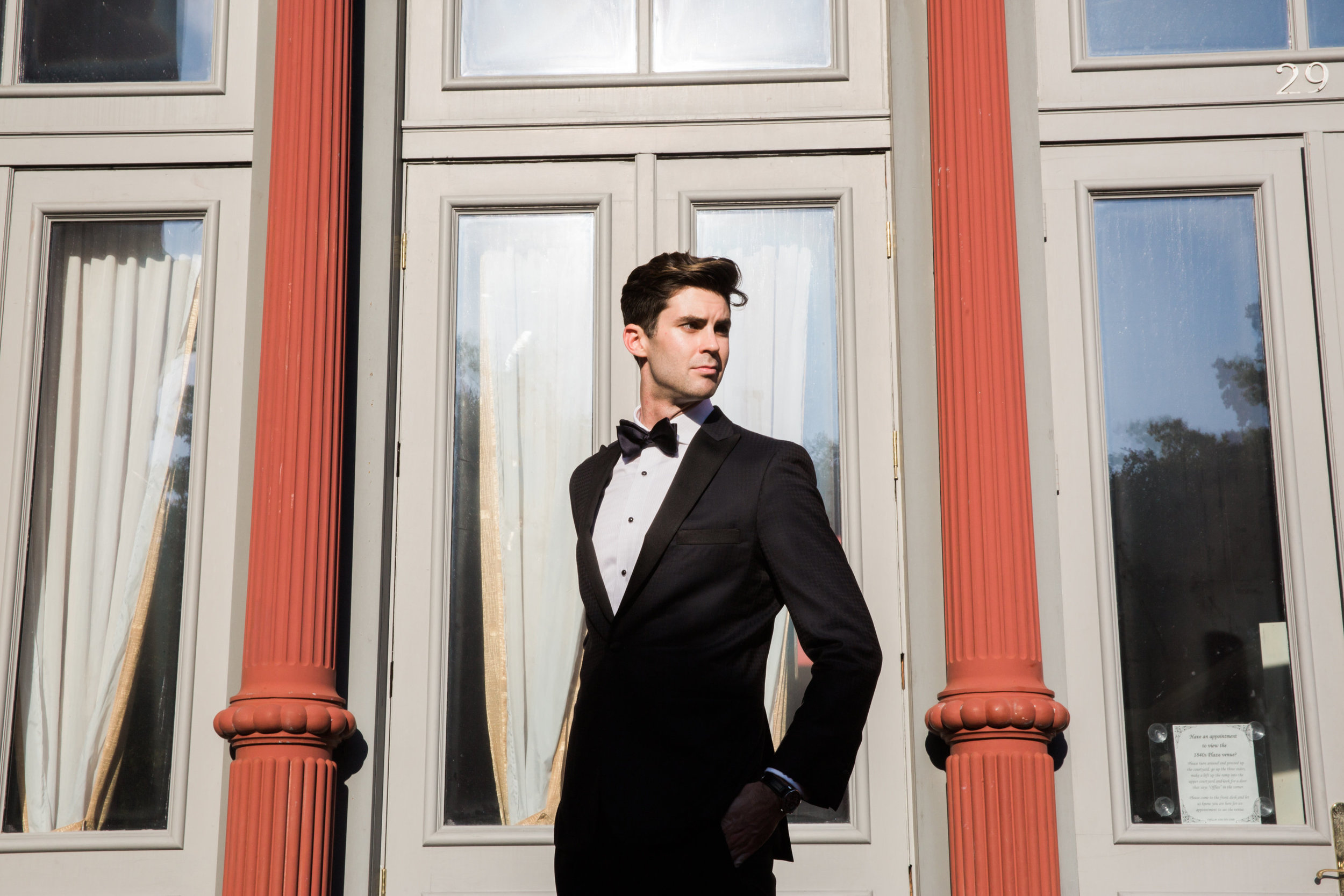 Menswear: Tom James Collection, Taylor Wood the Clothier