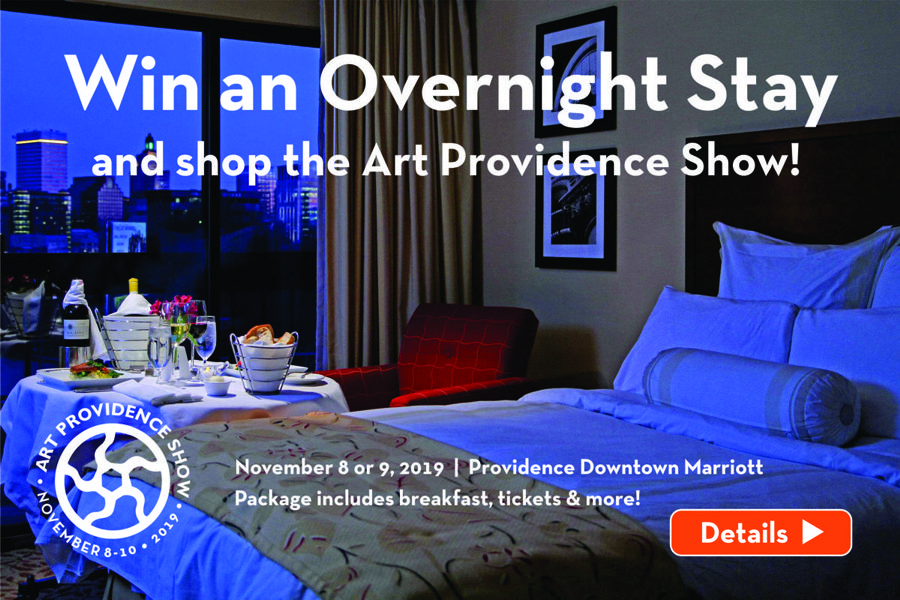 What better way to shop two incredible shows just one mile apart: the Art Providence Show and the Fine Furnishings Show!