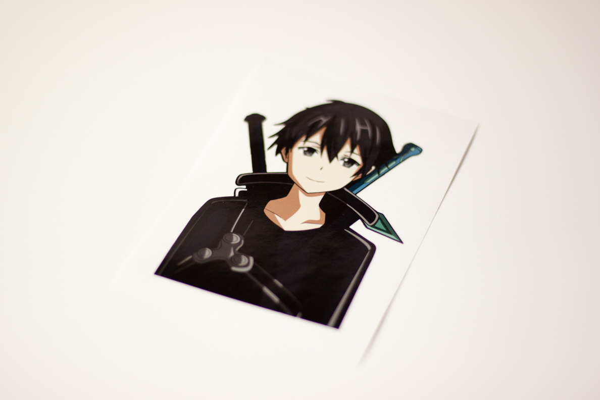 Kirito Sticker Was Released