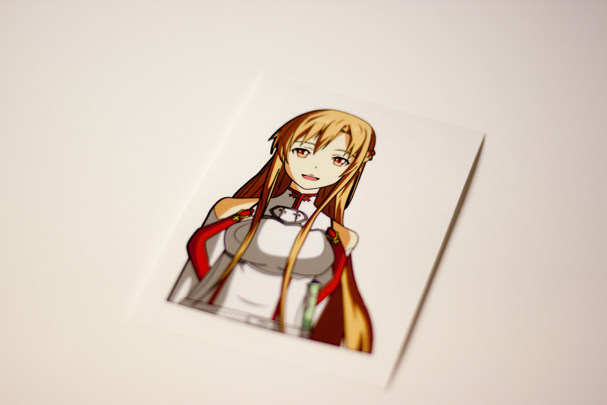 Asuna Sticker Was Released