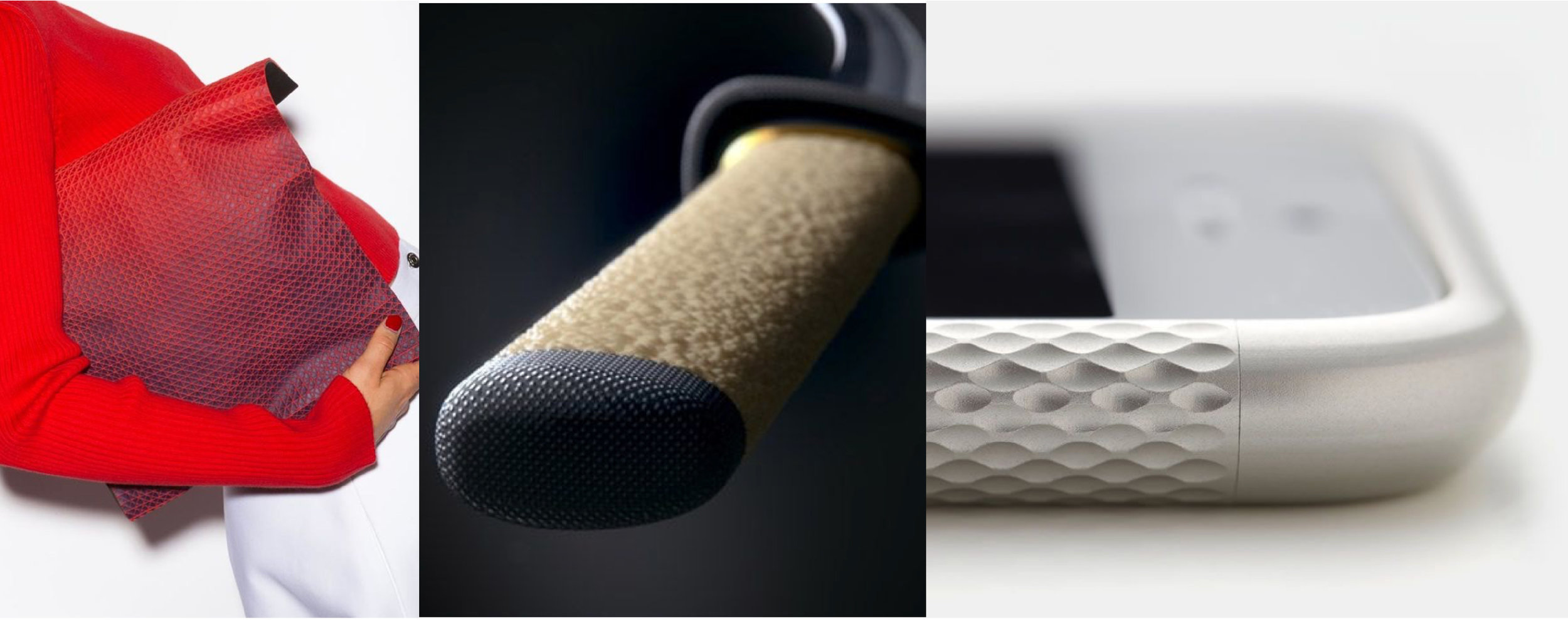 Micro Surface - Inspiration for the development of a unique texture to provide a high-performance surface for the saddle cover materials.