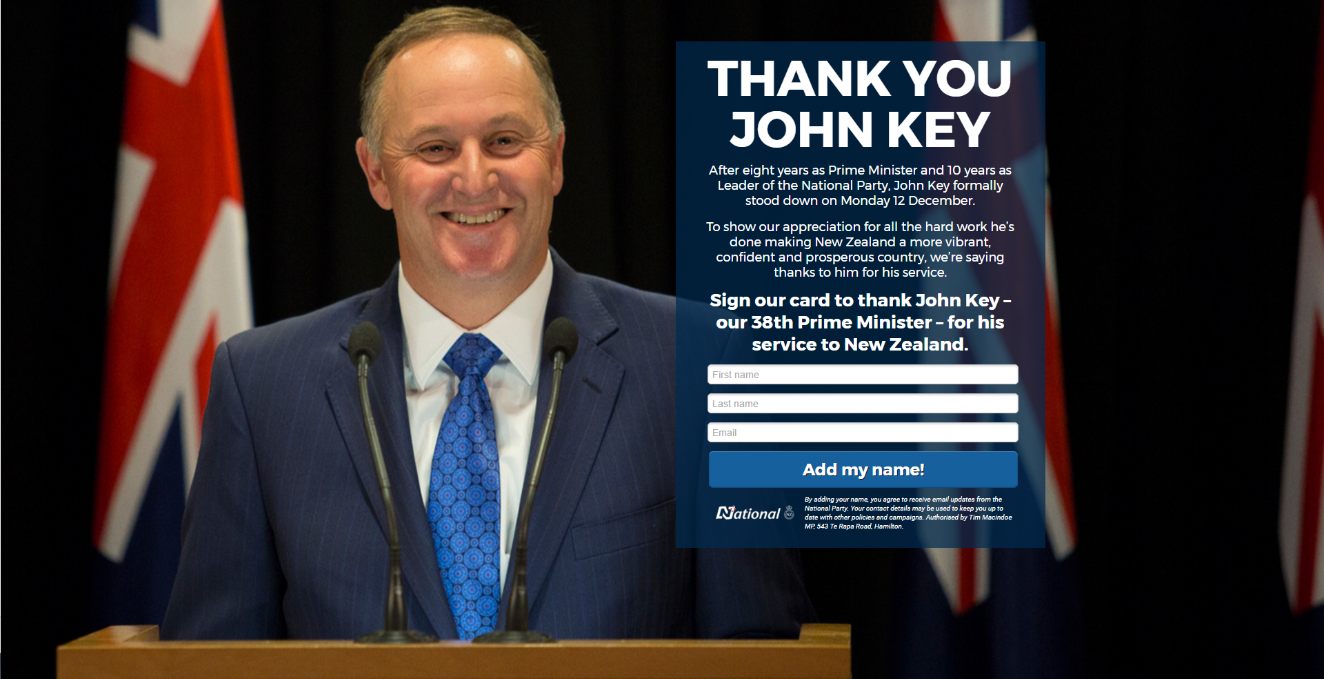 Thank You John Key Website Screen Grab.PNG