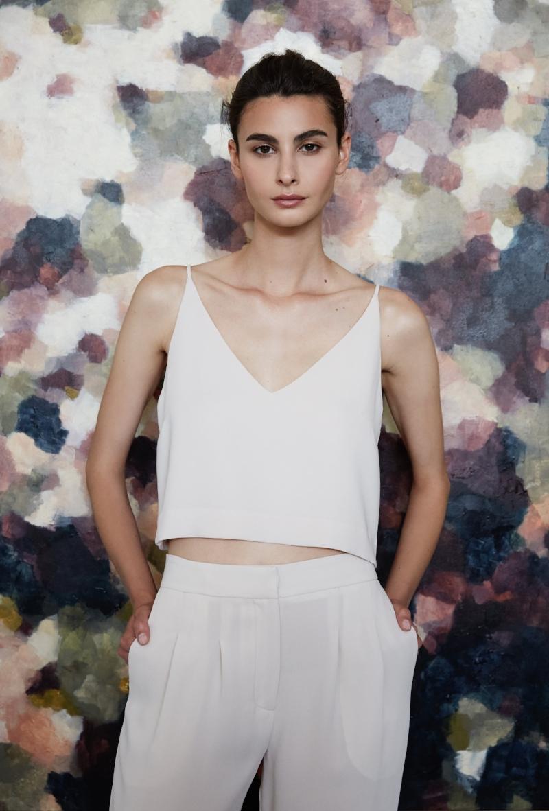 Daydream Silk — Light & Shade    Collaboration with Juliette Hogan  'Distill' Spring/Summer 2018 Photo courtesy of Juliette Hogan