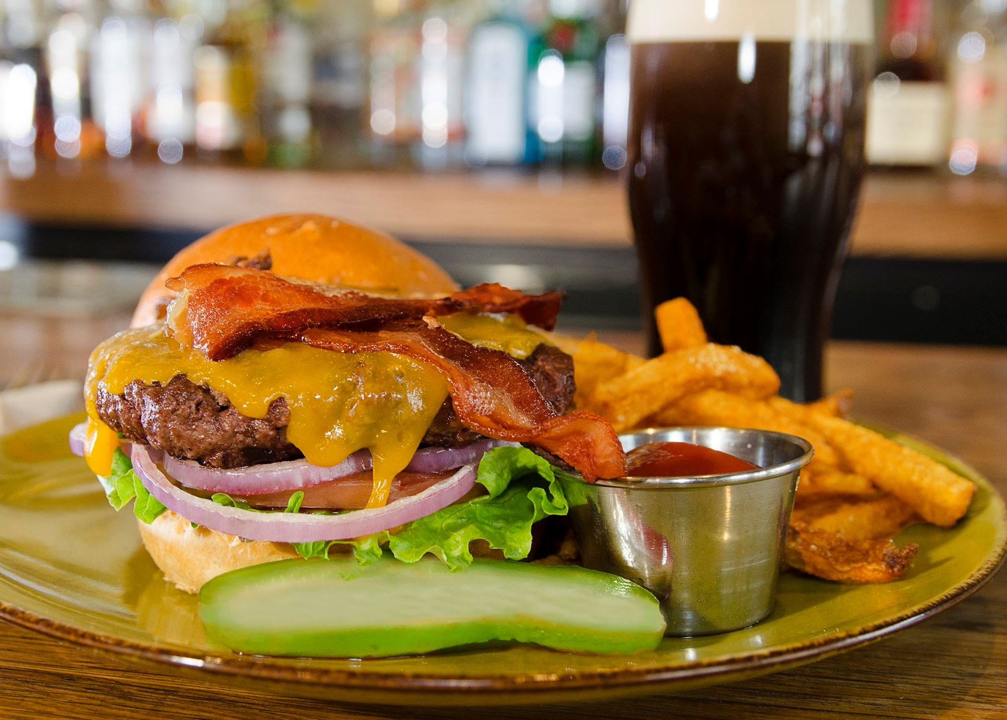 $12 burger special - the Green Room