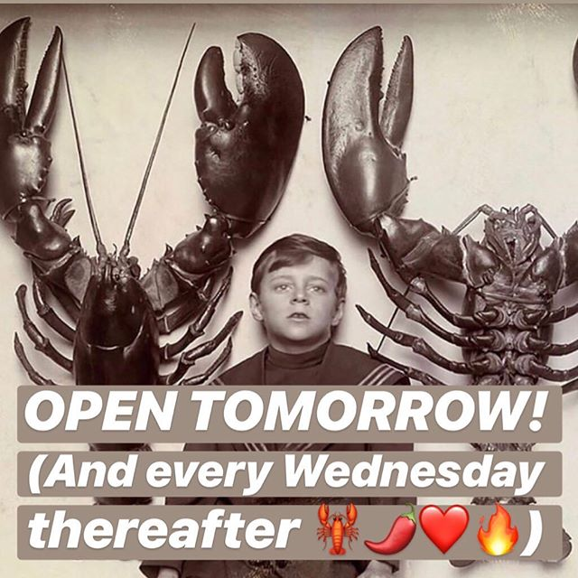 We will be open tomorrow, Wednesday 6/26, at 11:30 & every subsequent Wednesday for the rest of the summer! More days coming soon! We're still looking for a cook to cover a couple of shifts a week to help us reach our goal of being open 7 days a week! We're a fun-loving, hard-working team and could be the perfect part time gig for the right person! DM us if interested to get the ball rolling!