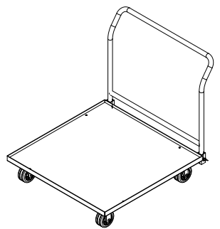 Cart for EverBlock Flooring