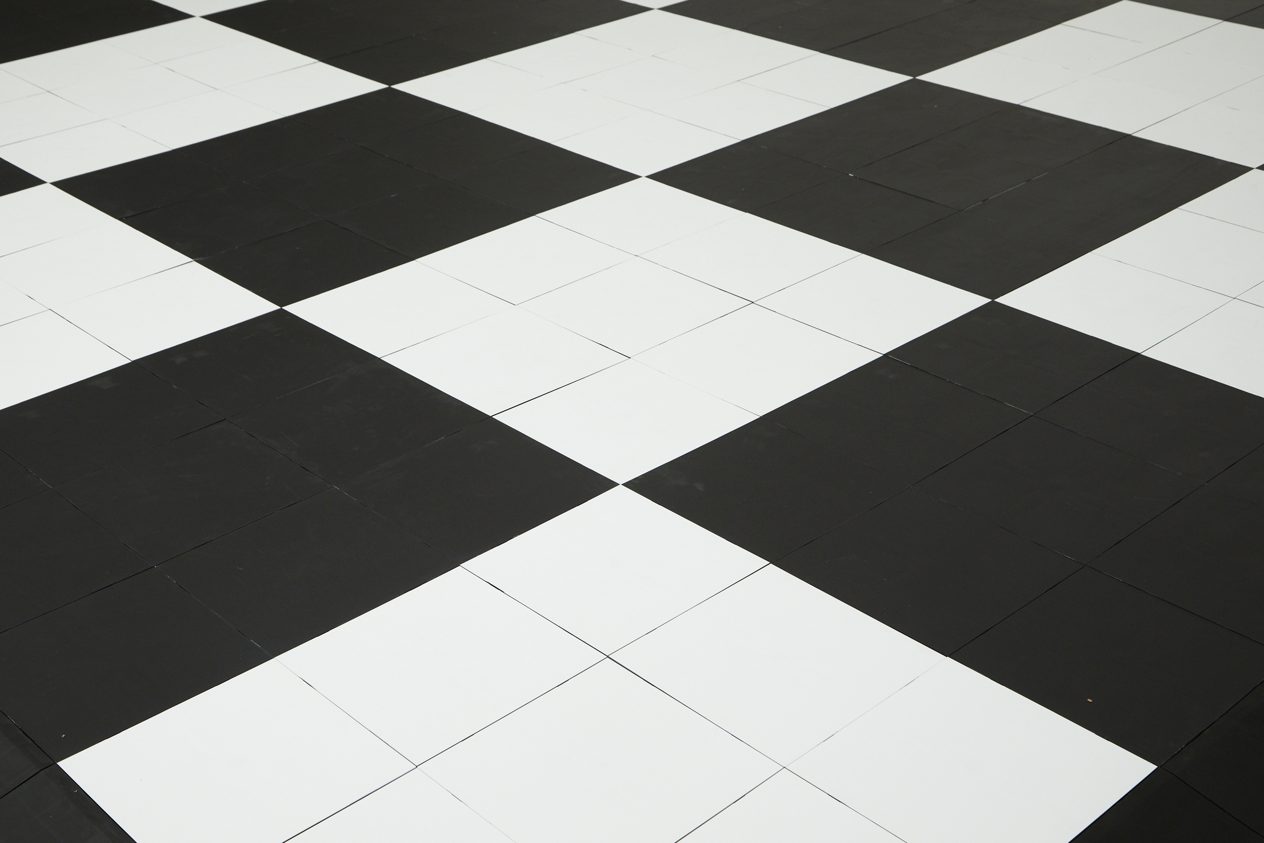 Colorful trade show flooring