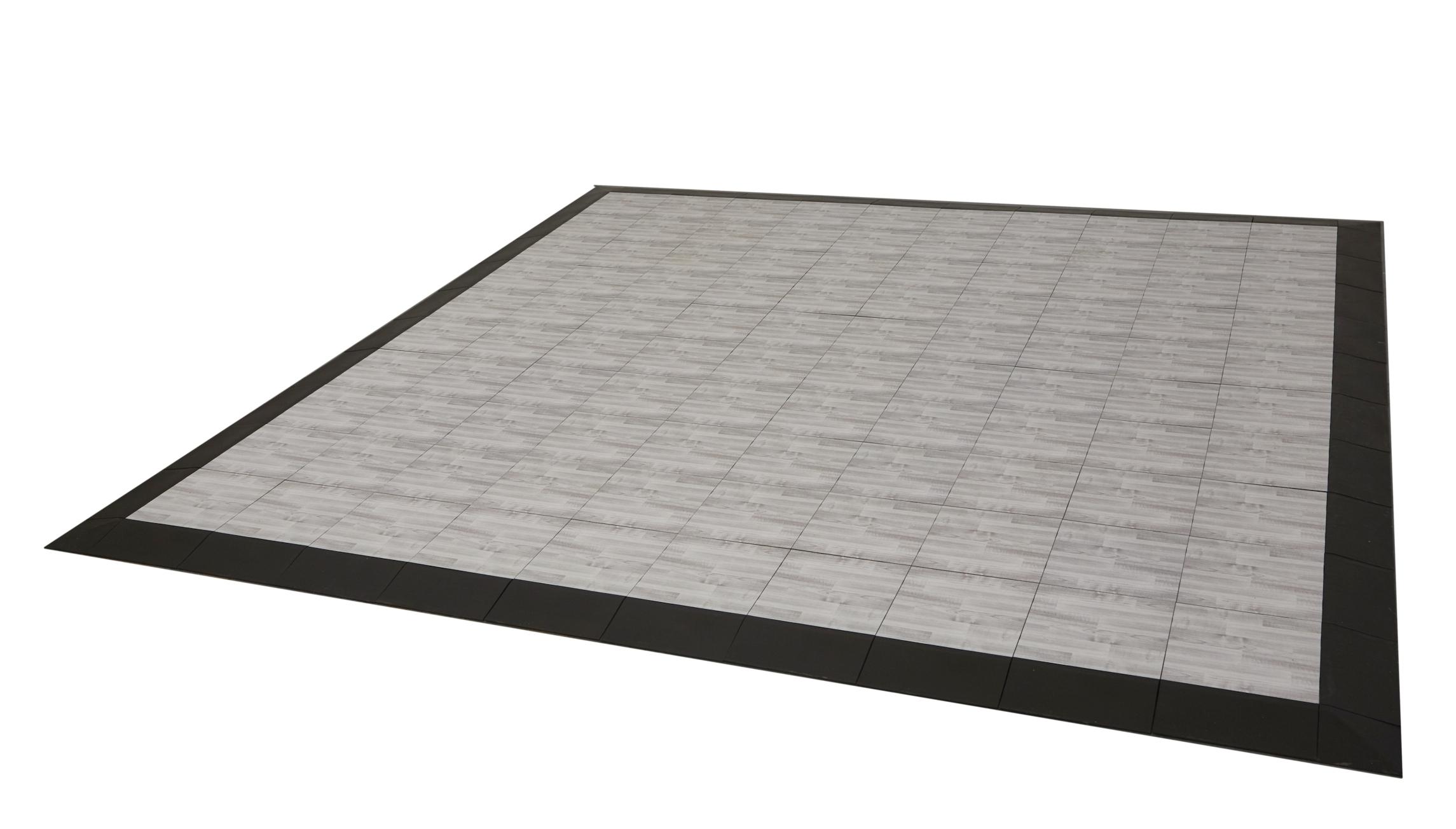 Modular exhibit floors