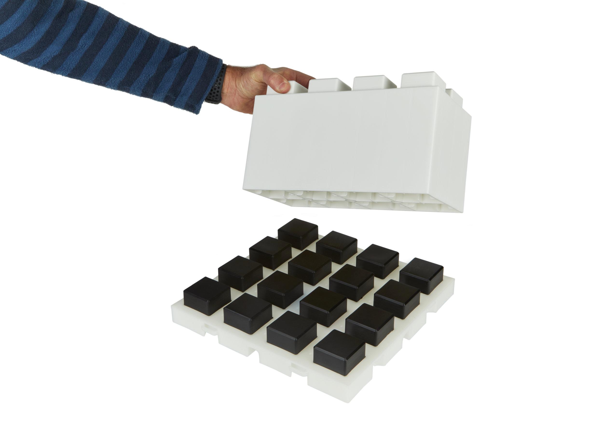 Connecting Block to EverBlock Flooring