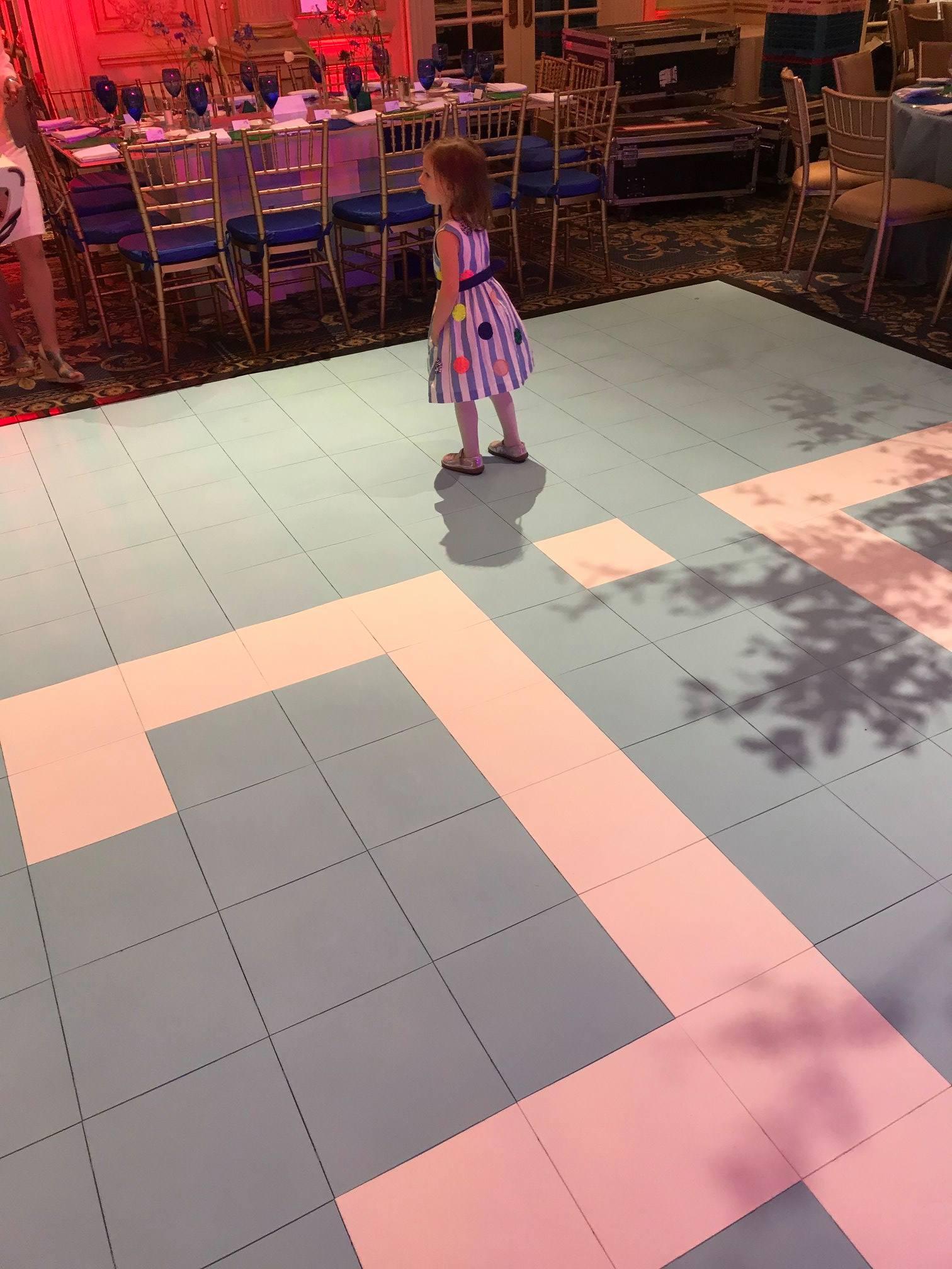 Modular Colorful Dance Floor