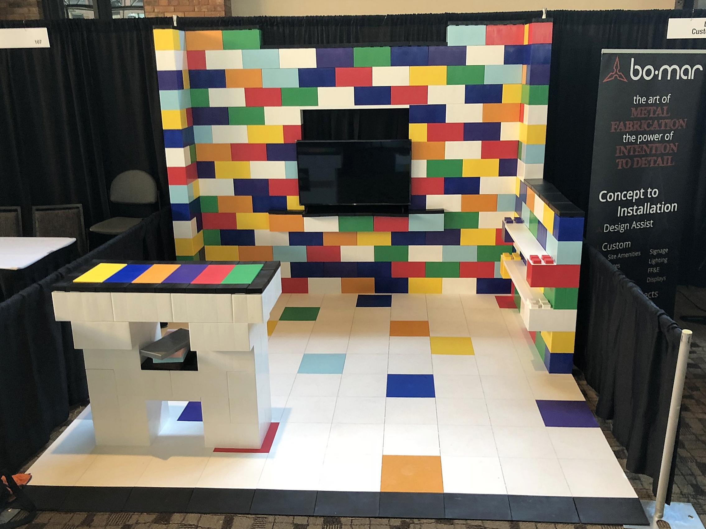 Alternate colors to create beautiful customized floor patterns.