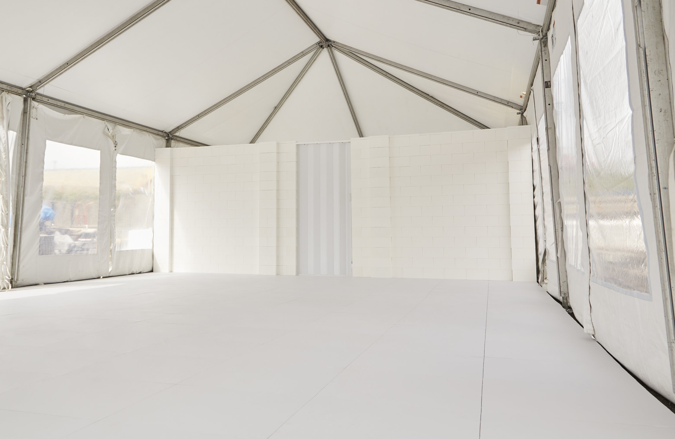 Use EverBase flooring with our EverBlock modular building blocks to create complete tent environments, including interior divider walls to build offices, storage areas, sleeping areas and more.