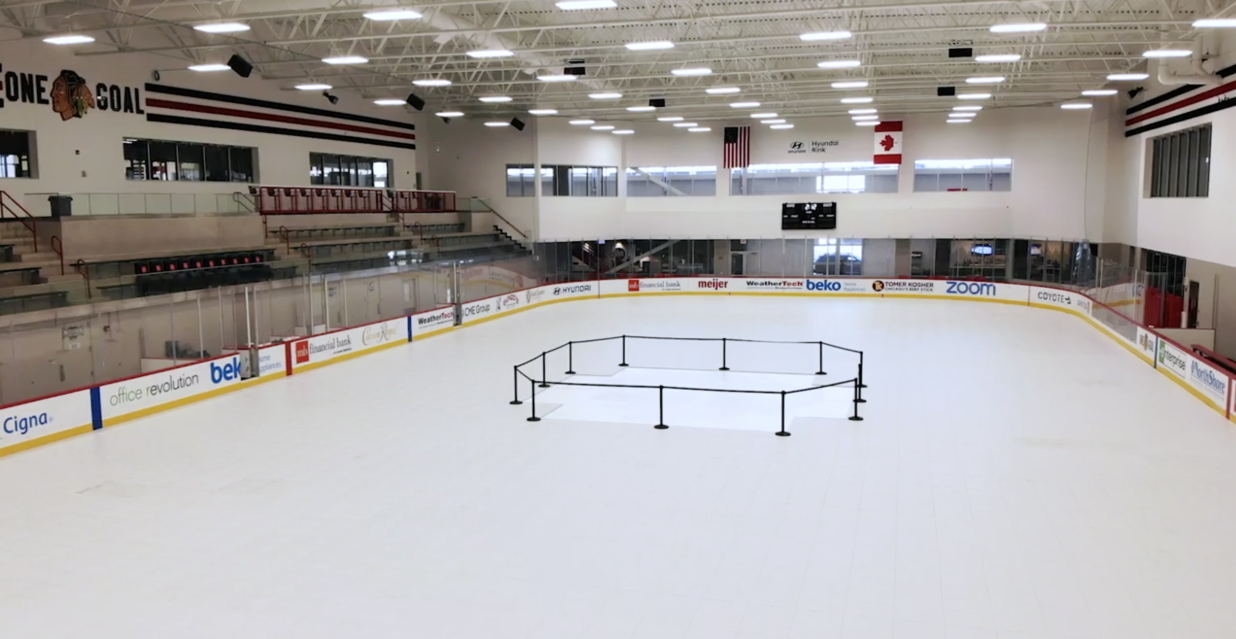 Everbase ice rink flooring cover