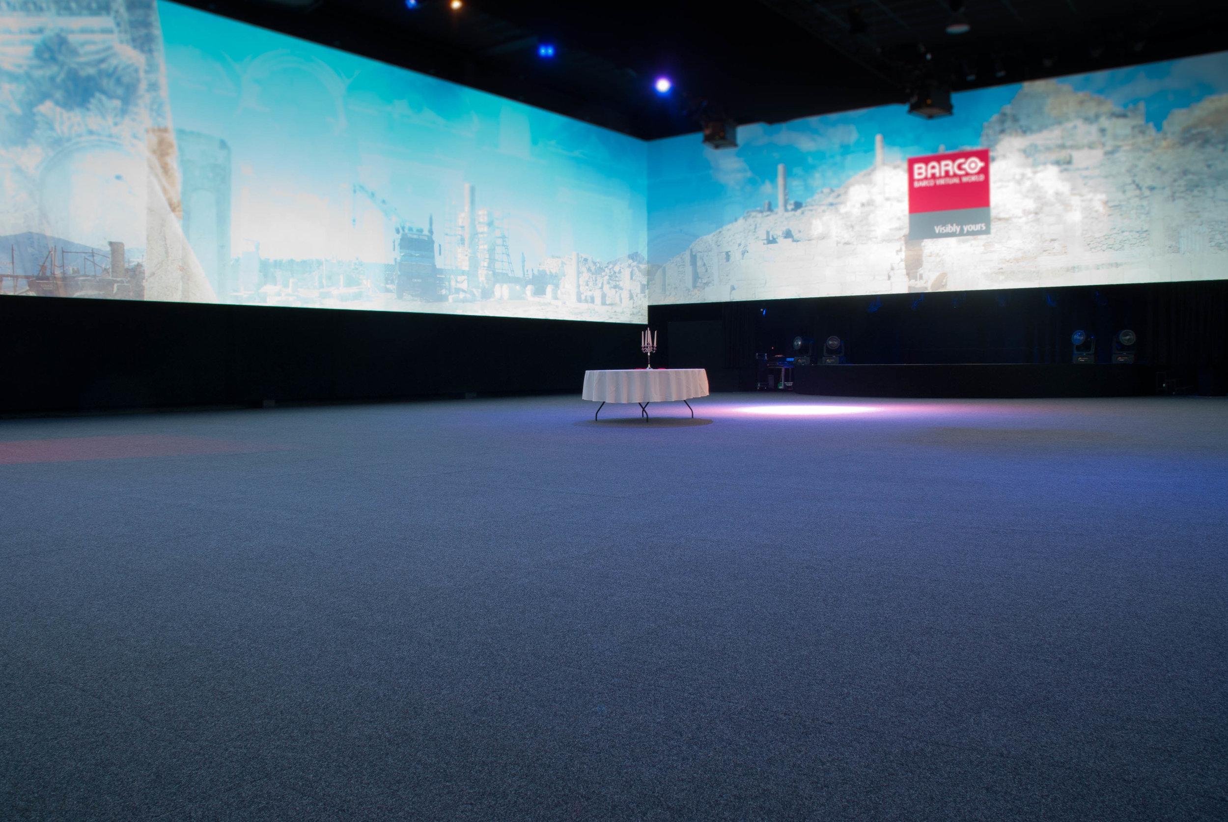 Convert your gym into a true multi-purpose event venue