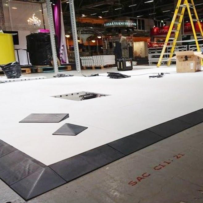 modular flooring edging