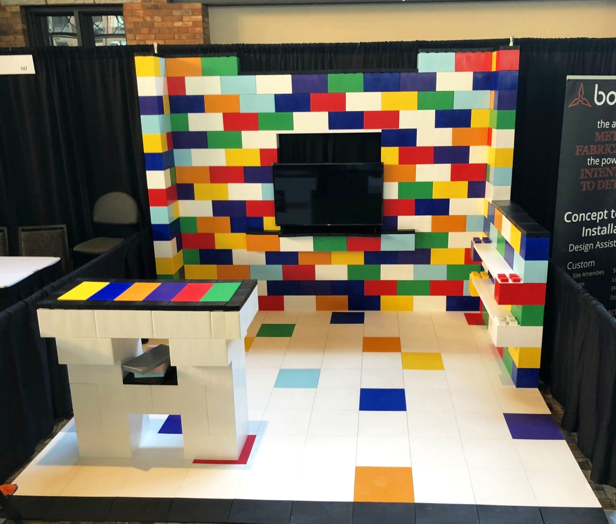Exhibit Floors / Display Floors
