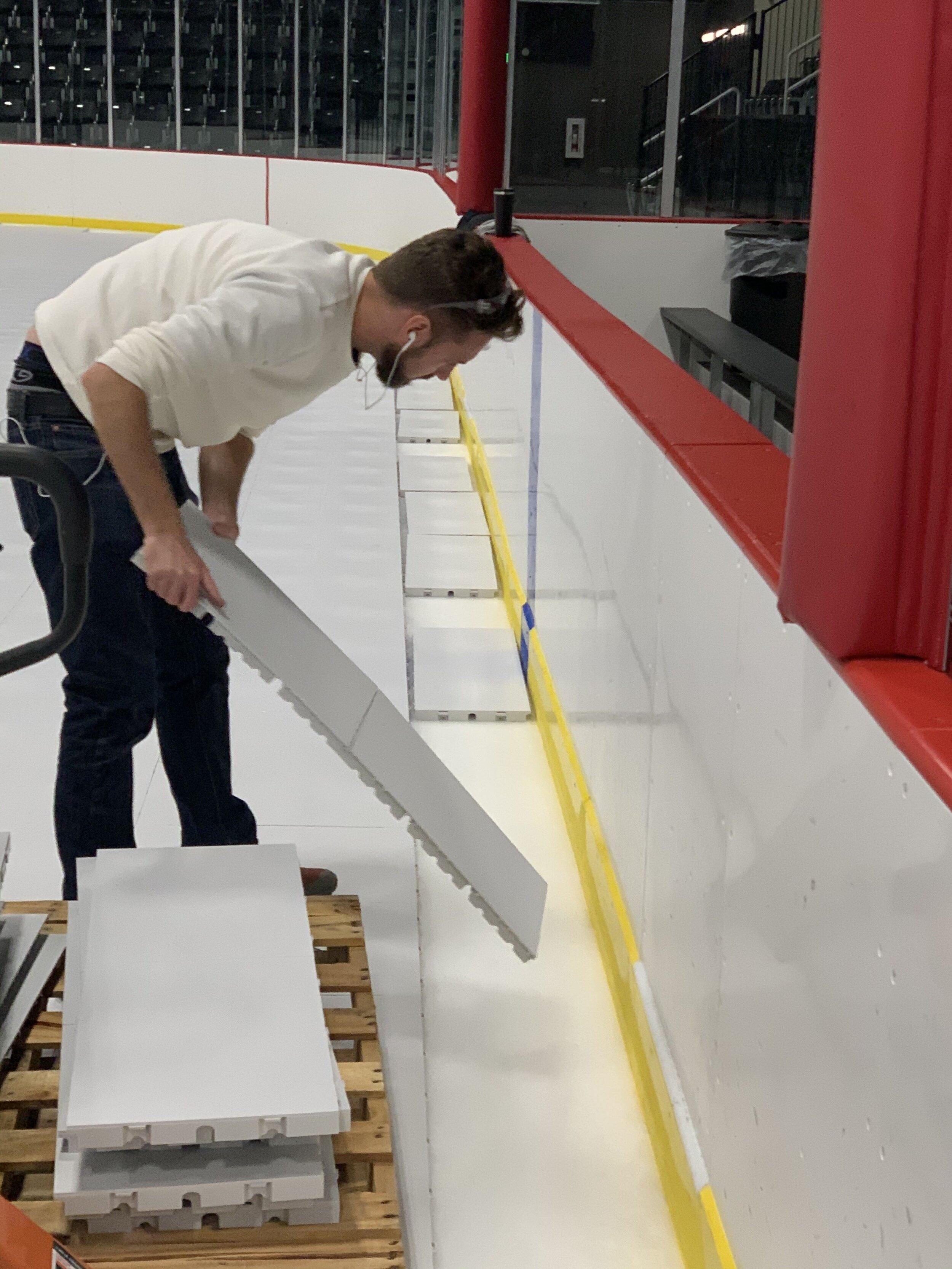 arena ice floor system