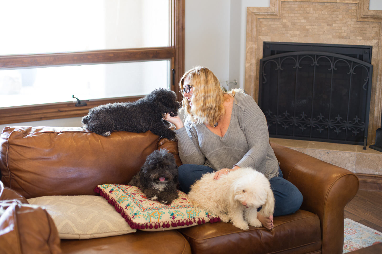 Lauriewithdogs.jpg